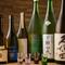 厳選された日本酒を白ワインのように楽しむことができる