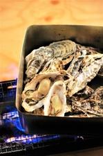 牡蠣のガンガン焼き