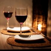 デートでのディナーにもオススメ。個室にご案内いたします