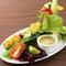 地産地消で地元の野菜を使用。直接仕入れで新鮮!