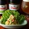 ベルギービールと相性抜群、季節の味覚を味わう『いんげんと茄子の夏のポテトサラダ』
