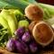 朝採りの三浦野菜。みずみずしく、彩り鮮やか