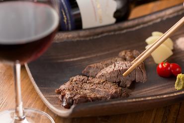 とても柔らかく、上品な味わい『黒毛和牛ヘレステーキ』