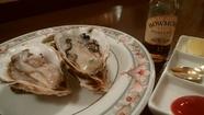 辛子明太子と韓国海苔のクリームスパゲッティ からすみを少々
