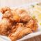 強い旨みとあふれる肉汁を味わう『特製塩唐揚げ』