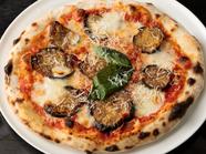 揚げナスとリコッタチーズが決め手のシチリアピッツァ『ノルマシチリアーナ』