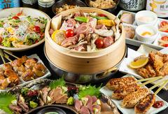 メインは夏限定の『香鶏と旬野菜のせいろ蒸し』。素材本来の旨み&栄養分がギュッと凝縮した贅沢な一品!
