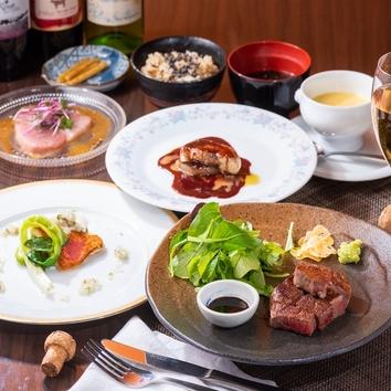 【ヒトサラ限定特典付き】〈ディナー〉Bコース 8,000円