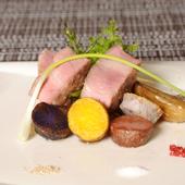 金城アグーと沖縄県産根菜のロティ