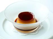 香ばしいカラメルの香りと滑らかな食感、適度な甘さが絶妙な『大人のプリン』