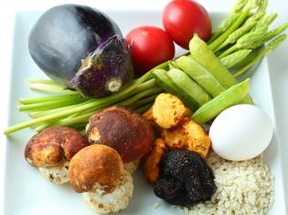 厳選素材の良さを料理に生かす「トリュフ」「水ナス」「トマト」