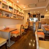 清潔感と可愛らしさあふれるアットホームな和みのカフェ