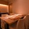 会食など大切なひとときに最適な個室を完備