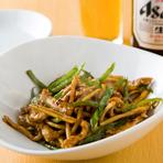 中華の炒め物の代表格、『チンジャオロース』