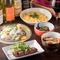 地元の食材でつくるイタリア創作料理を和気あいあいと楽しめる