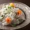 玄界灘の鯛をシンプルに味わう『鯛のカルパッチョ』