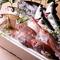 その日に水揚げされた、九州全土の鮮魚を網羅