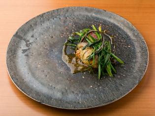 『大和牛 牡蠣』※季節や仕入れにより料理は変わります。