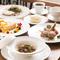 秋田の厳選食材を使用したスペシャル感溢れる多彩なコース料理
