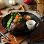 ●葡萄牛ランプステーキ
