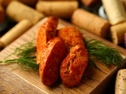 ぷちぷちした食感と燻製の香りが口の中いっぱいに広がります