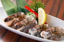 美味しさも大きさもダイナミック『大海老の開き炙り焼き』