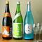 利き酒師が厳選した日本酒をシャンパングラスで…