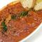カラブリア風トリッパ(ハチノス)の辛いトマト煮込み