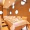大切な会食の場にふさわしい、洗練された大人の個室空間