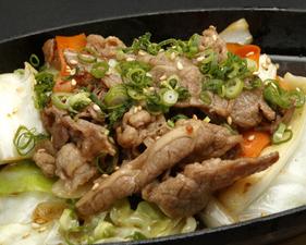 北海道産四元豚の蒸し鍋