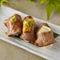 一度食べるとやみつきになる食感と旨み。大人気の絶品『牛タン寿司(3貫)』