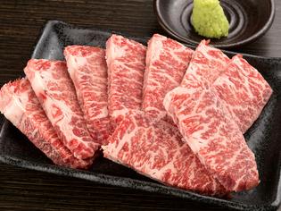 赤城山ろくで育った「赤城牛」をはじめ豚肉も充実