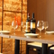 ワインとおいしい料理で二人の距離もグッと縮まる