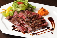 厳選素材で贈る『高級肉のビステッカ』