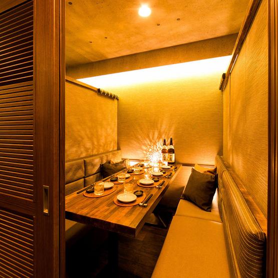 個室でくつろげる「ディナーレストラン」