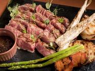 国産和牛サーロインステーキ 焼やさい添え 2~3人分