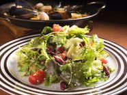 スプラウトのサラダ