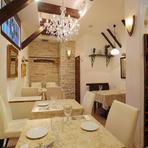 イタリアの風情と本格的なイタリア料理が味わえます