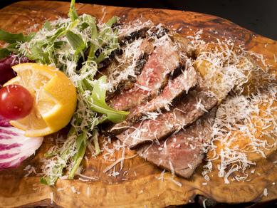 レア感残る肉の味を楽しむ。濃厚さと爽やかさを兼ね備えた『AMOREの和牛/200g』