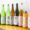 料理に合わせやすい日本酒を各種取り揃えている