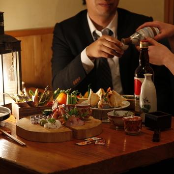 お鍋 ご宴会コース(2時間飲み放題付、4名様~) 5000円から