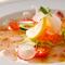 本日の鮮魚と野菜のカルパッチョ