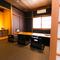 人数に合わせて使える、大小様々なタイプの個室を完備
