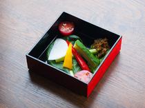 季節を味わう旬野菜のお通し