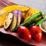 全国各地、一番美味しく収穫できる地域で育った野菜を楽しめます