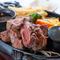 最高ランクの希少部位「みすじ」を堪能できる『備長炭プライムカットステーキ』