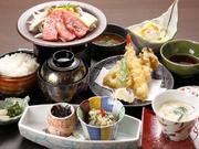伊くま本店がある三重県のブランド牛「伊賀牛」を使用した御膳。特別お値打ち価格で期間限定でのご提供メニュー。この機会にご賞味下さい。