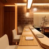 大切な方との会食には、個室としても利用可能