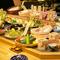 近海の鮮魚・神戸ビーフ・丹波地鶏など、料理人の厳選食材を堪能