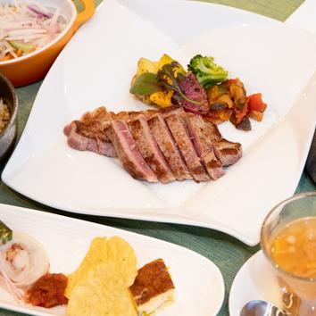 US赤身肉ステーキコース